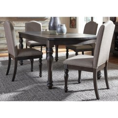 Liberty Dining Chairs Kitchen Table With Rolling Furniture Catawba Hills 816 Dr 5rls 5 Piece