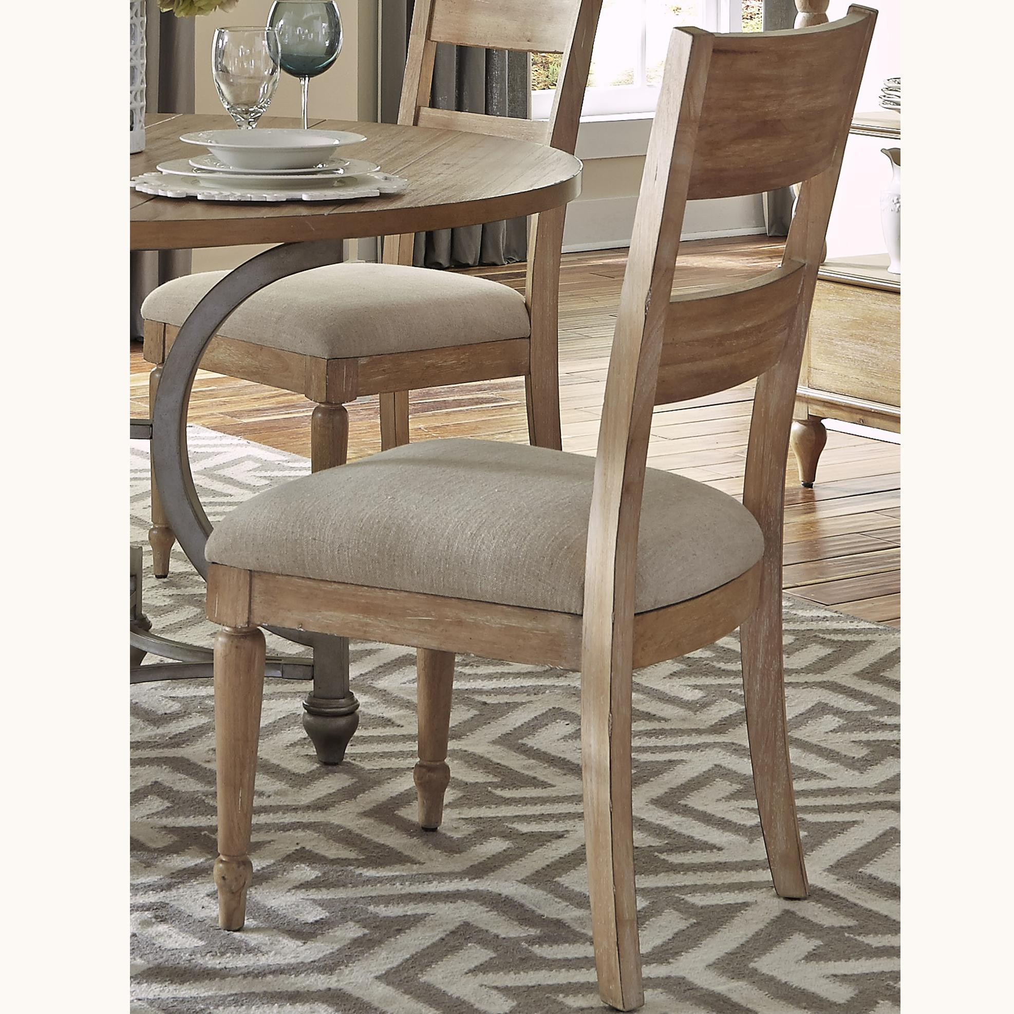 liberty dining chairs detroit tigers chair furniture harbor view 531 c1501 side