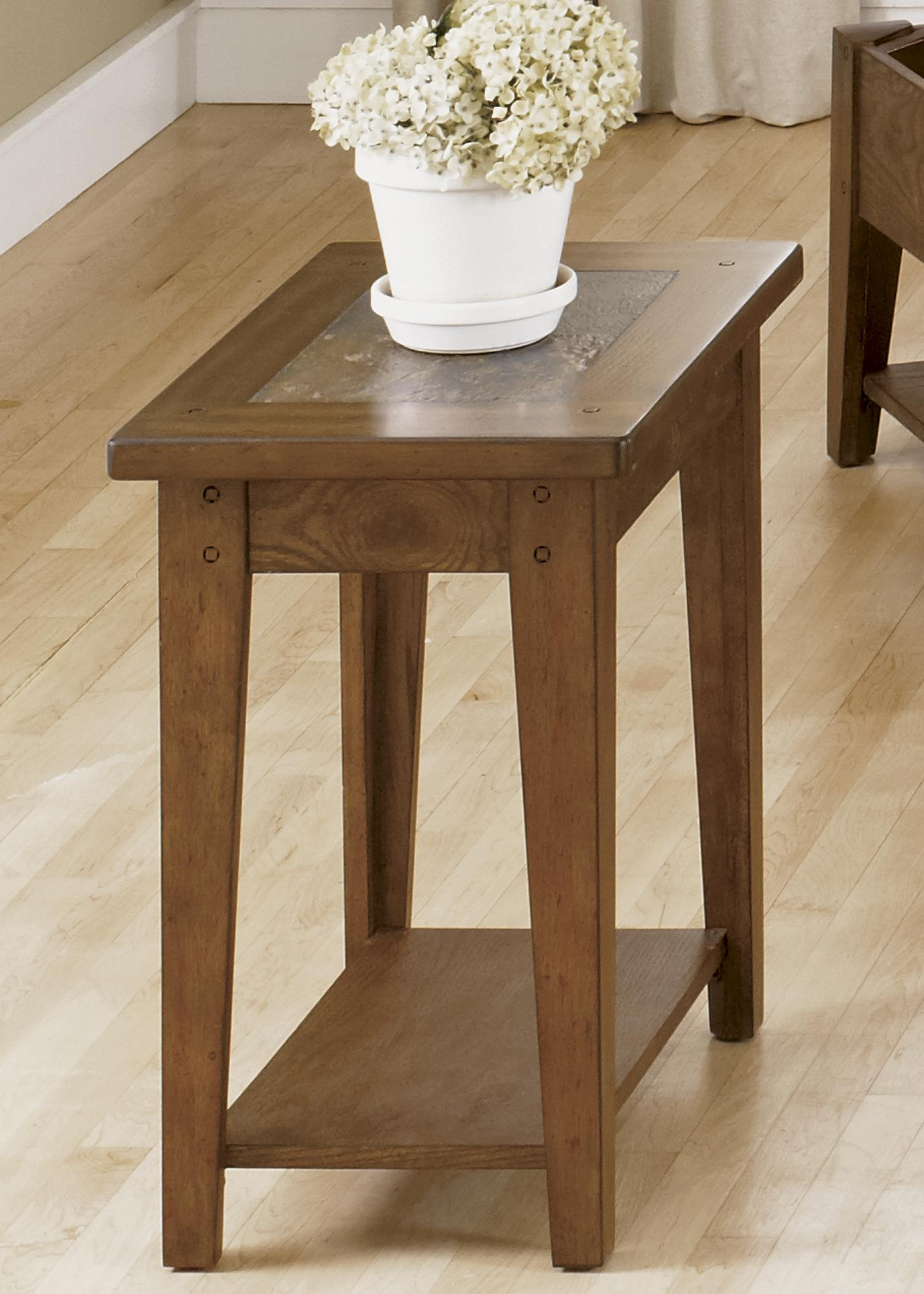 Chair Side Table Liberty Furniture Hearthstone 382 Ot1021 Chairside Table