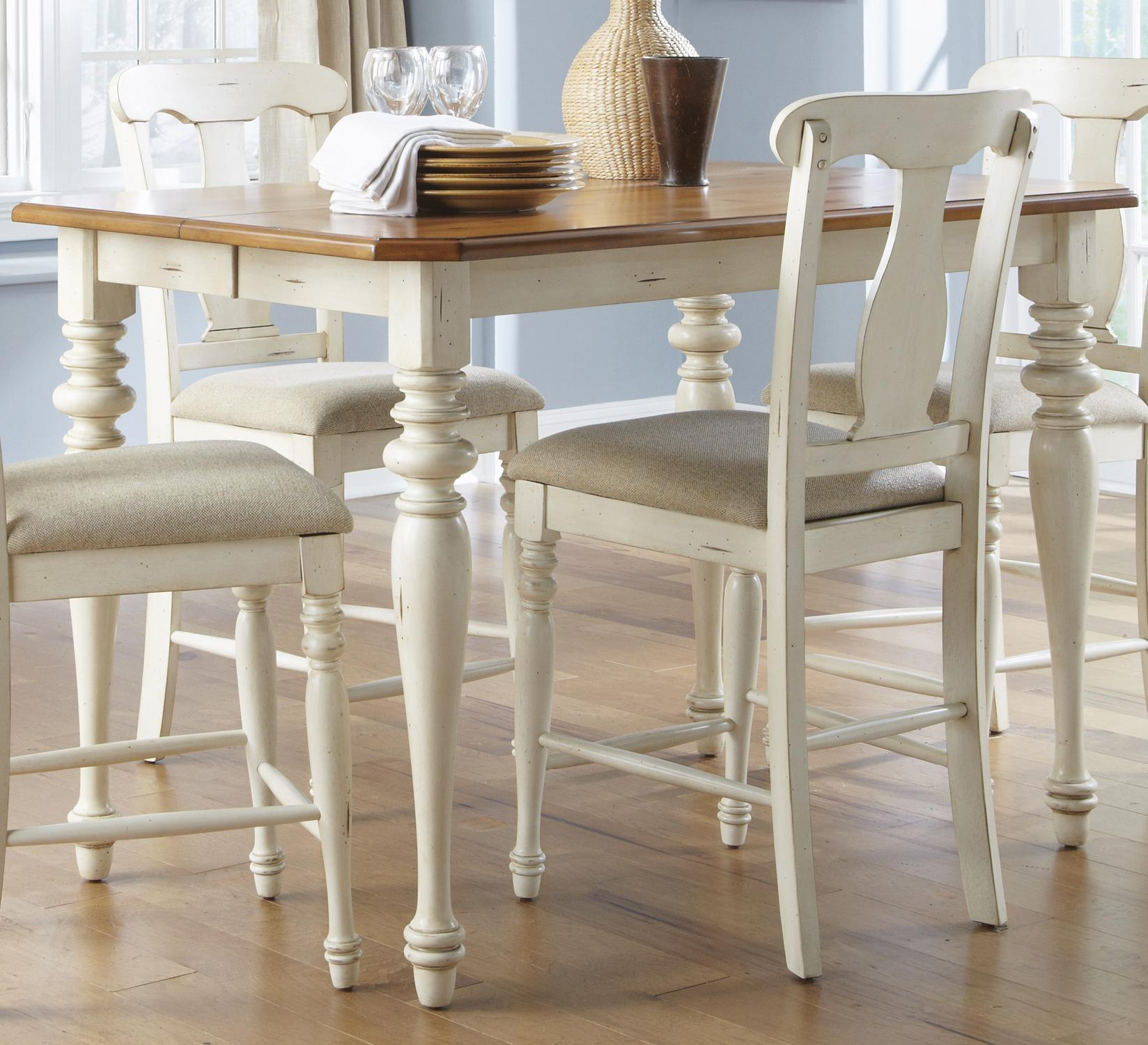 pub height chairs wooden high chair for sale liberty furniture ocean isle 303 g5454 gathering