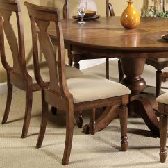 Rustic Dining Room Chairs Oak Desk Chair Swivel Liberty Furniture Traditions Splat Back Side