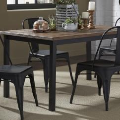 Liberty Dining Chairs Curved Corner Chair Furniture Vintage Series 5 Piece Gathering