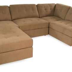 Sabrina Sofa Ralph Lauren Leather Chesterfield Taupe Button Tufted Sectional Rotmans