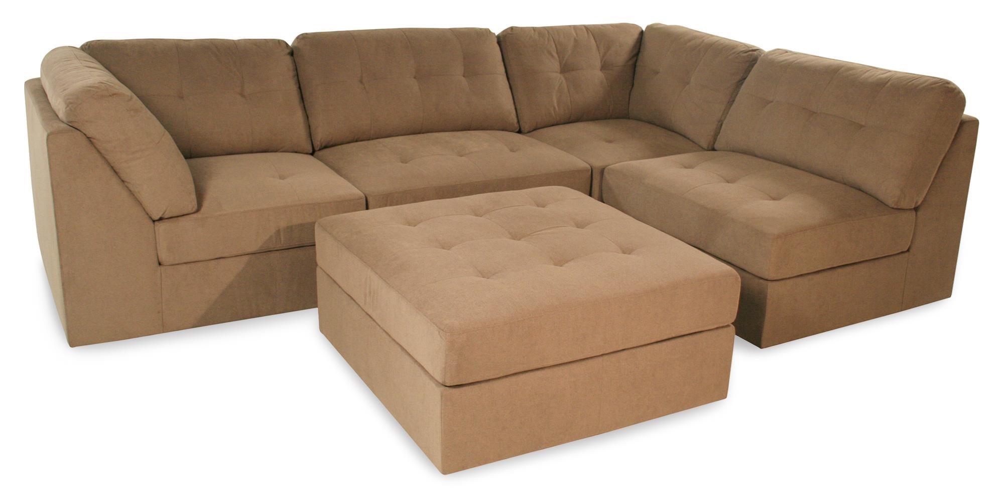 sabrina sofa sectional ottoman set taupe button tufted rotmans