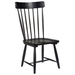 Farmhouse Dining Chairs Stackable Patio Magnolia Home By Joanna Gaines Spindle Back Side