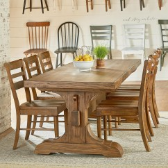 Farmers Dining Table And Chairs Sam Maloof Chair Magnolia Home By Joanna Gaines Farmhouse Seven Piece
