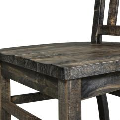 Springs For Dining Chairs Outdoor Chair Covers Ebay Belfort Select Aldie Transitional Weathered Gray