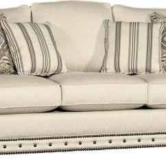 Sofa Furnitureland South Leather For Restaurants Mayo 2900 Rolled Arm W Nailhead Trim Olinde