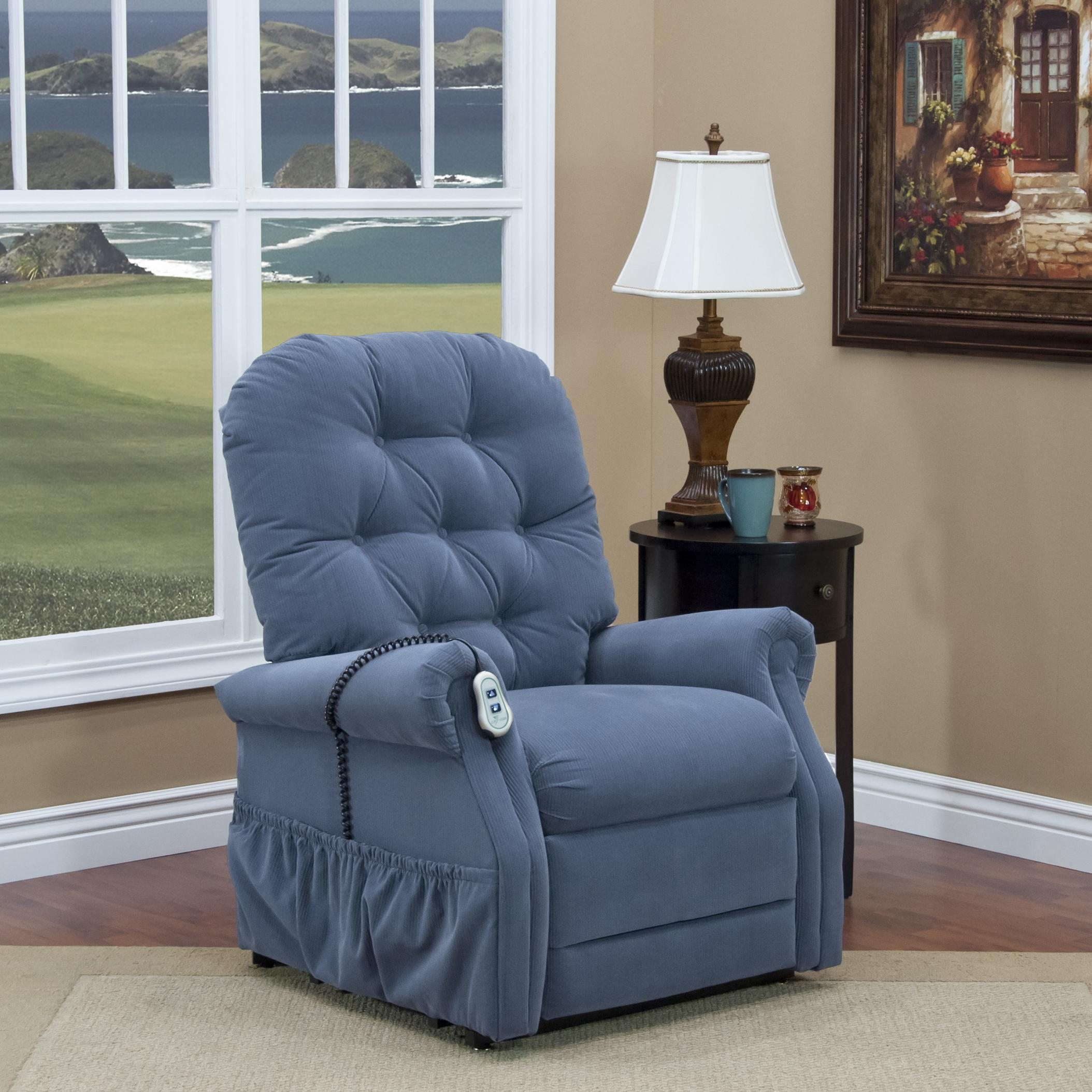 handicap lift chair recliner black spandex covers for weddings med and mobility 2555 casual 2 way with