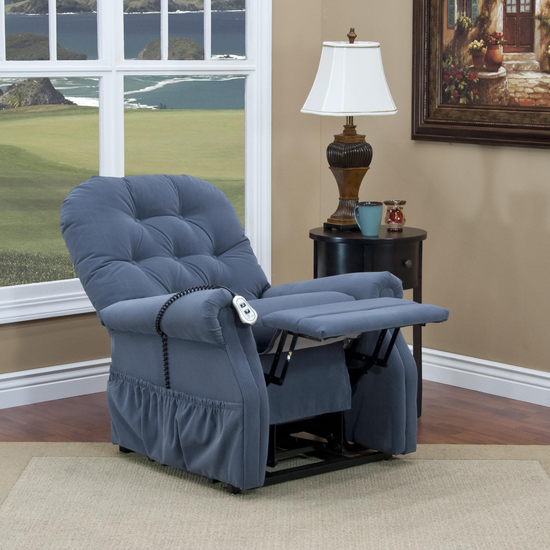 Med Lift Chairs Med Lift And Mobility 2555 Casual 2 Way Lift Recliner With