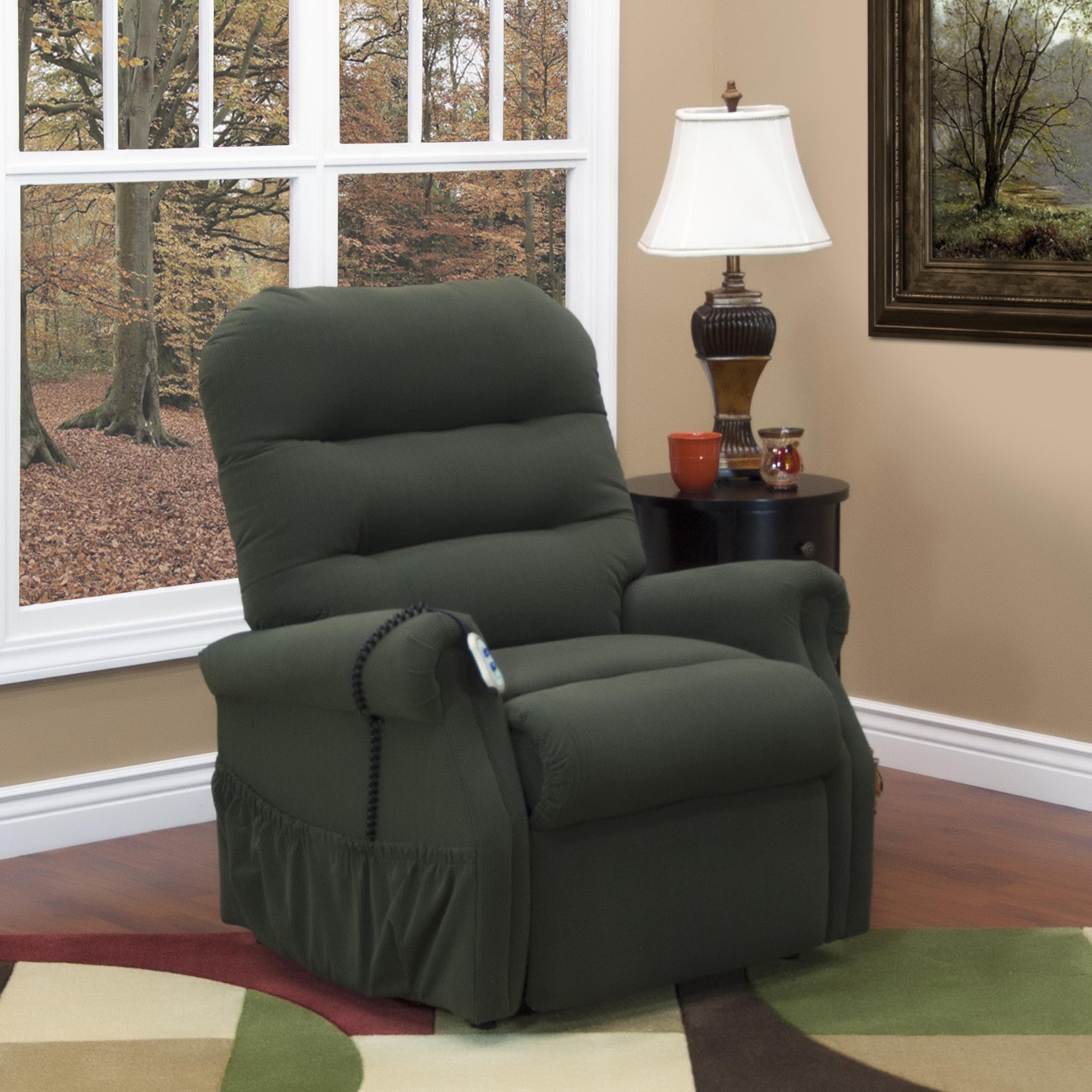 handicap lift chair recliner office cylinder med and mobility 3053 split back olinde