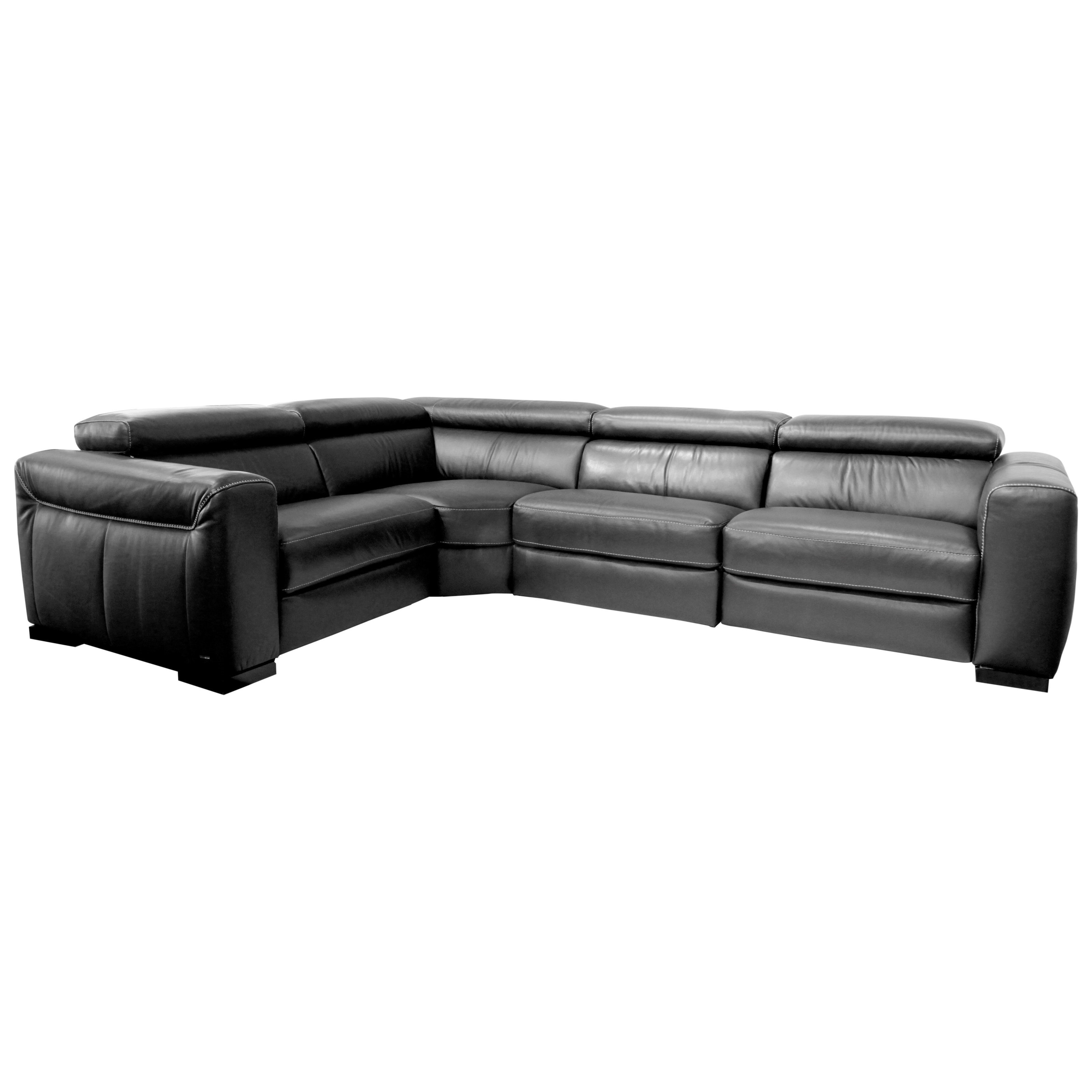natuzzi sectional sofa connectors rustic pine table editions forza contemporary power reclining