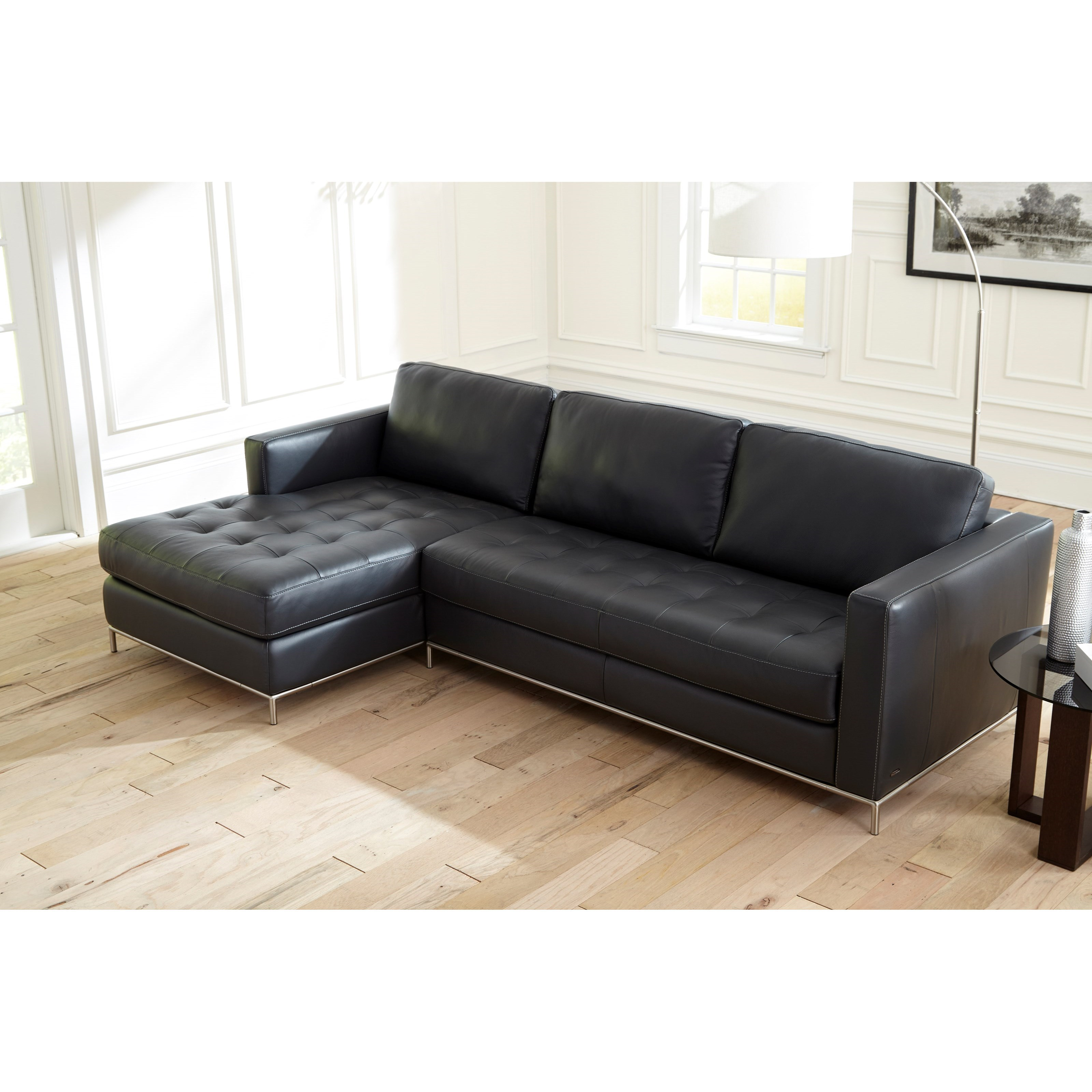 natuzzi leather sofa replacement legs bernhardt cantor editions b805 left arm facing chaise with
