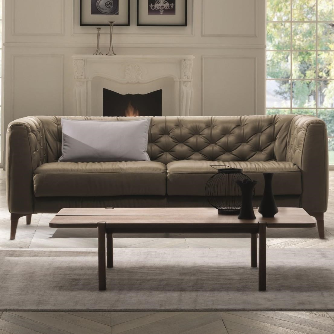 natuzzi sectional sofa connectors chair and ottoman editions rodolfo b988 009 mid century modern
