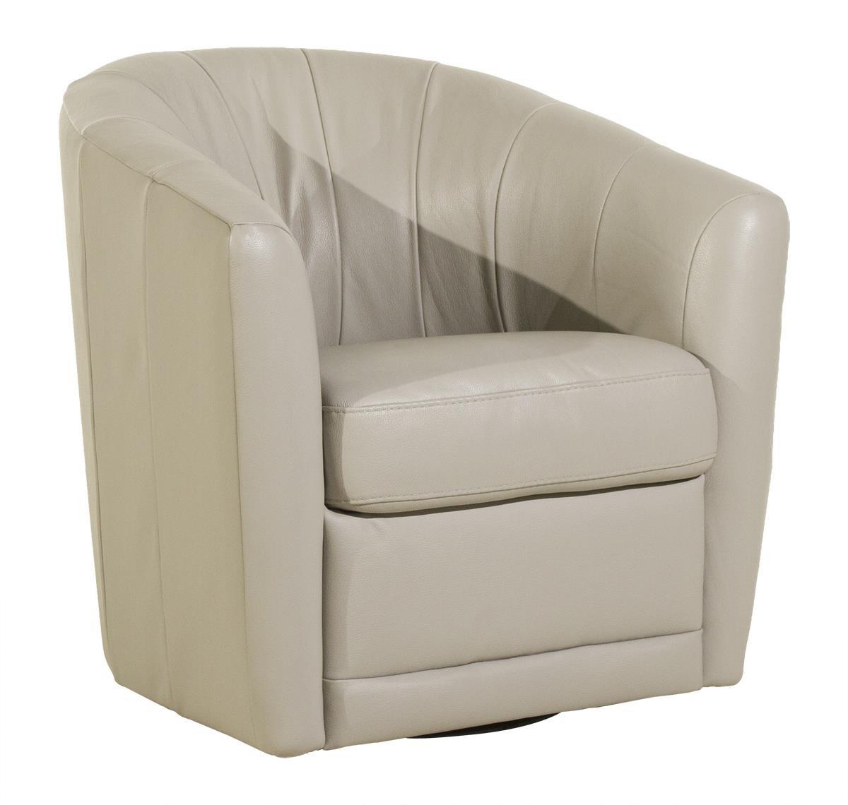 natuzzi swivel chair modern black leather desk editions giada homeworld furniture