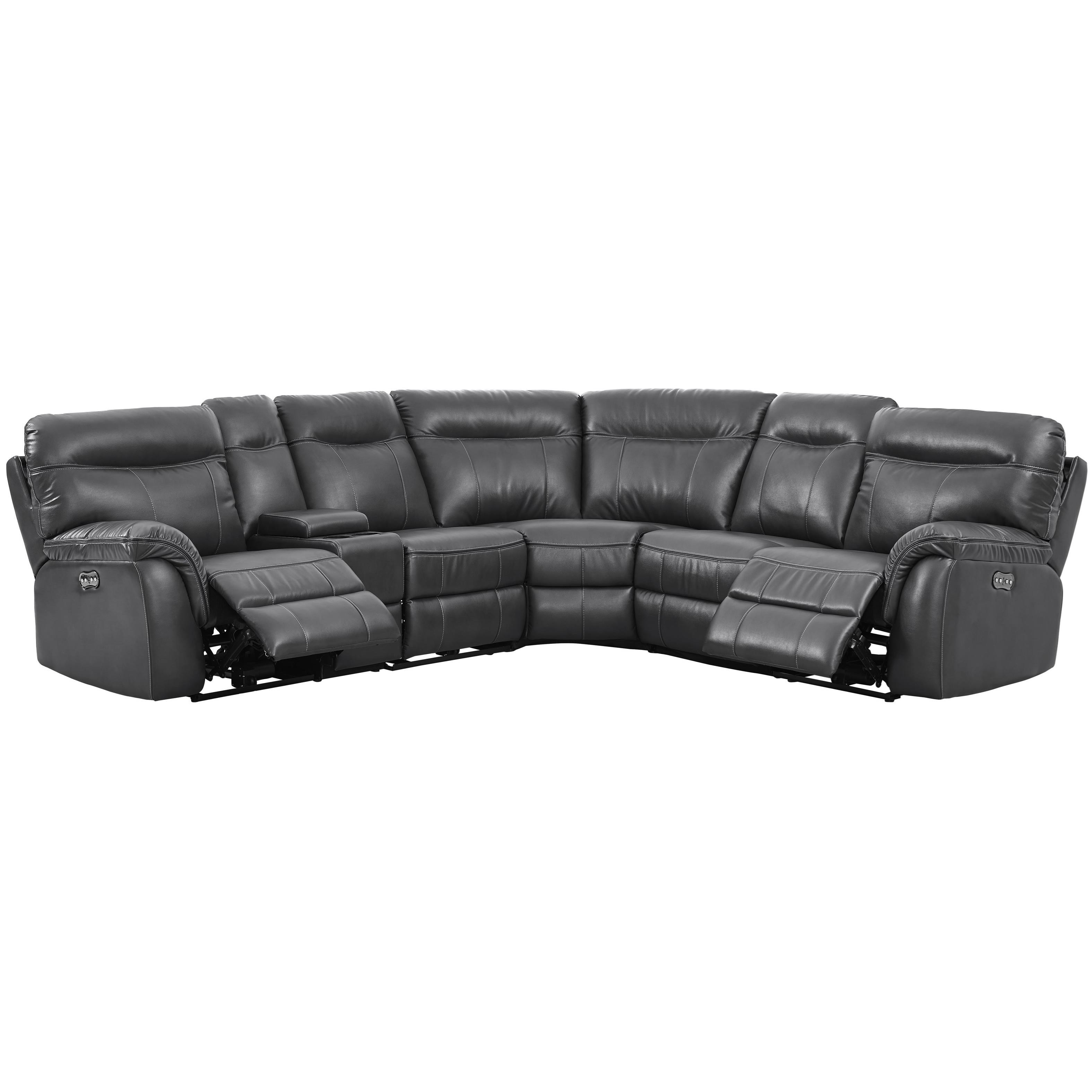 sofa rph traditional sets toronto new classic atlas casual 5 seat power sectional with