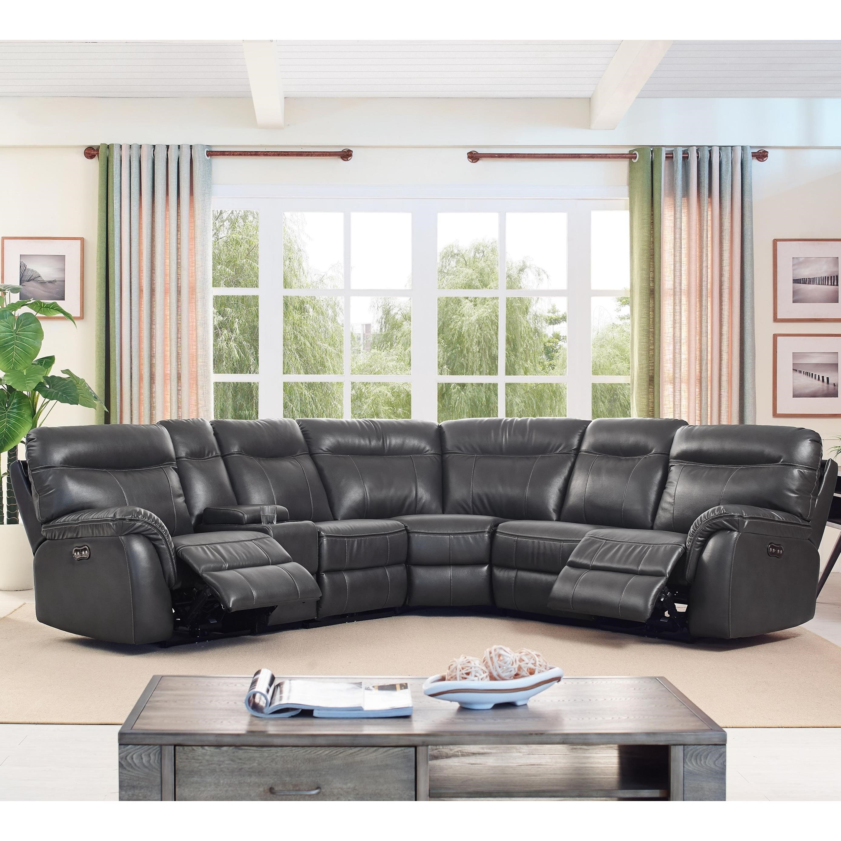 sofa rph wicker emporium table new classic atlas casual 5 seat power sectional with