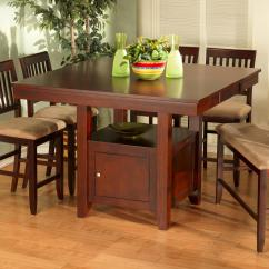 Pub Table With Chairs And Bench Office Chair Quikr New Classic Brendan Storage Del Sol Furniture