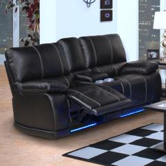 Double Recliner Chairs With Cup Holders Folding Shower Chair Wheels New Classic Electra Contemporary Dual Console