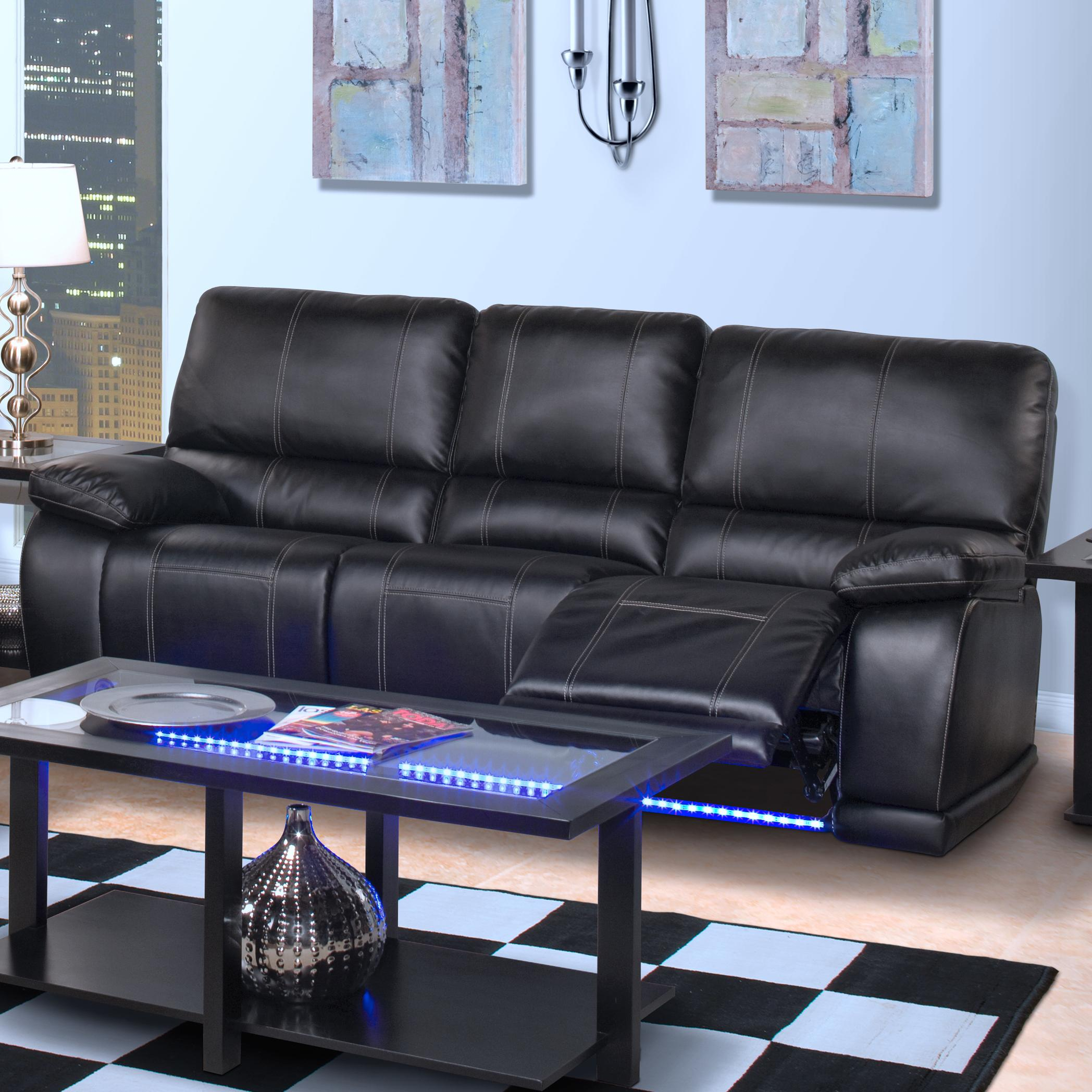 motion sofas sofa simmons upholstery new classic electra 22 382 32 mbk contemporary power