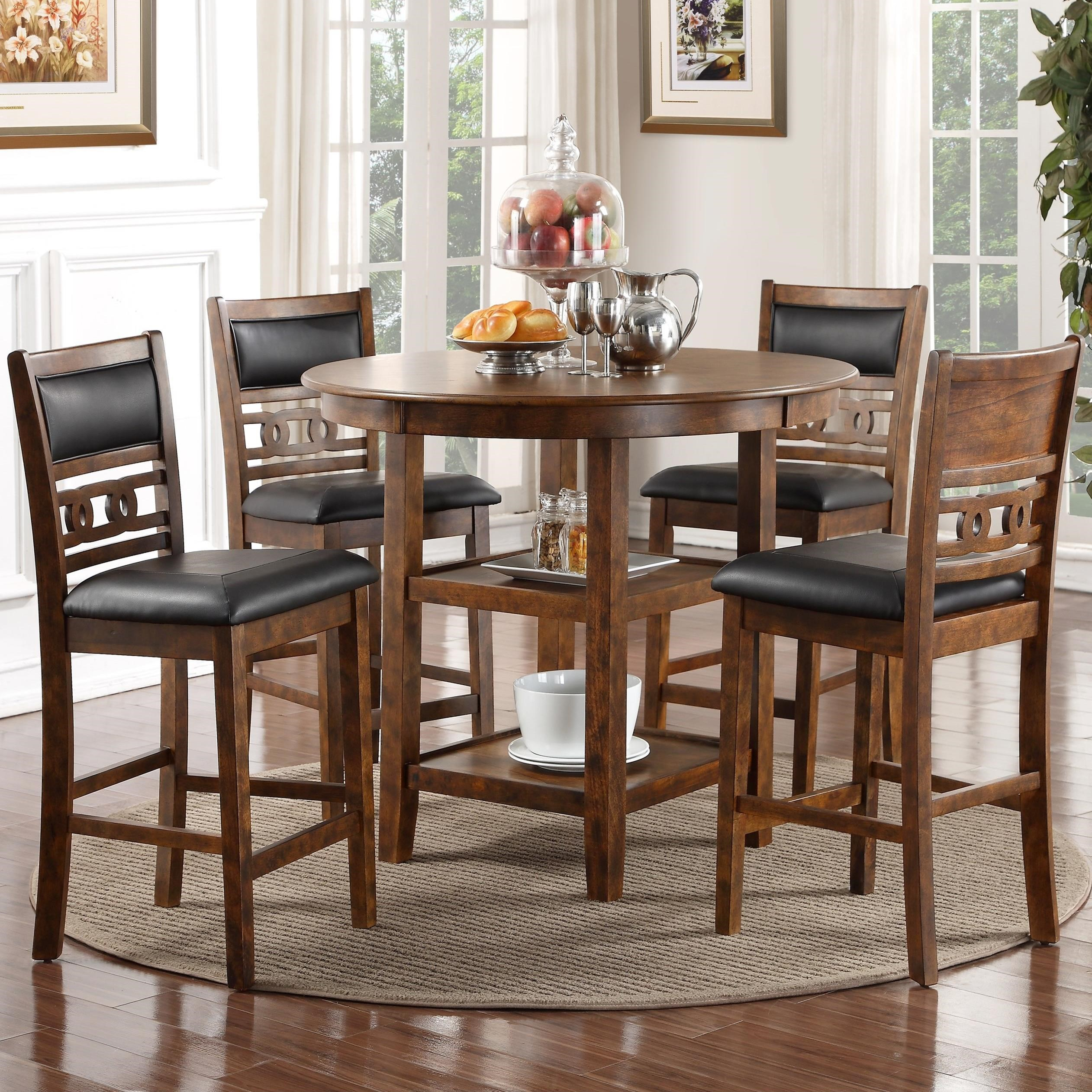 tall table and chairs patio pub new classic gia counter height dining chair set