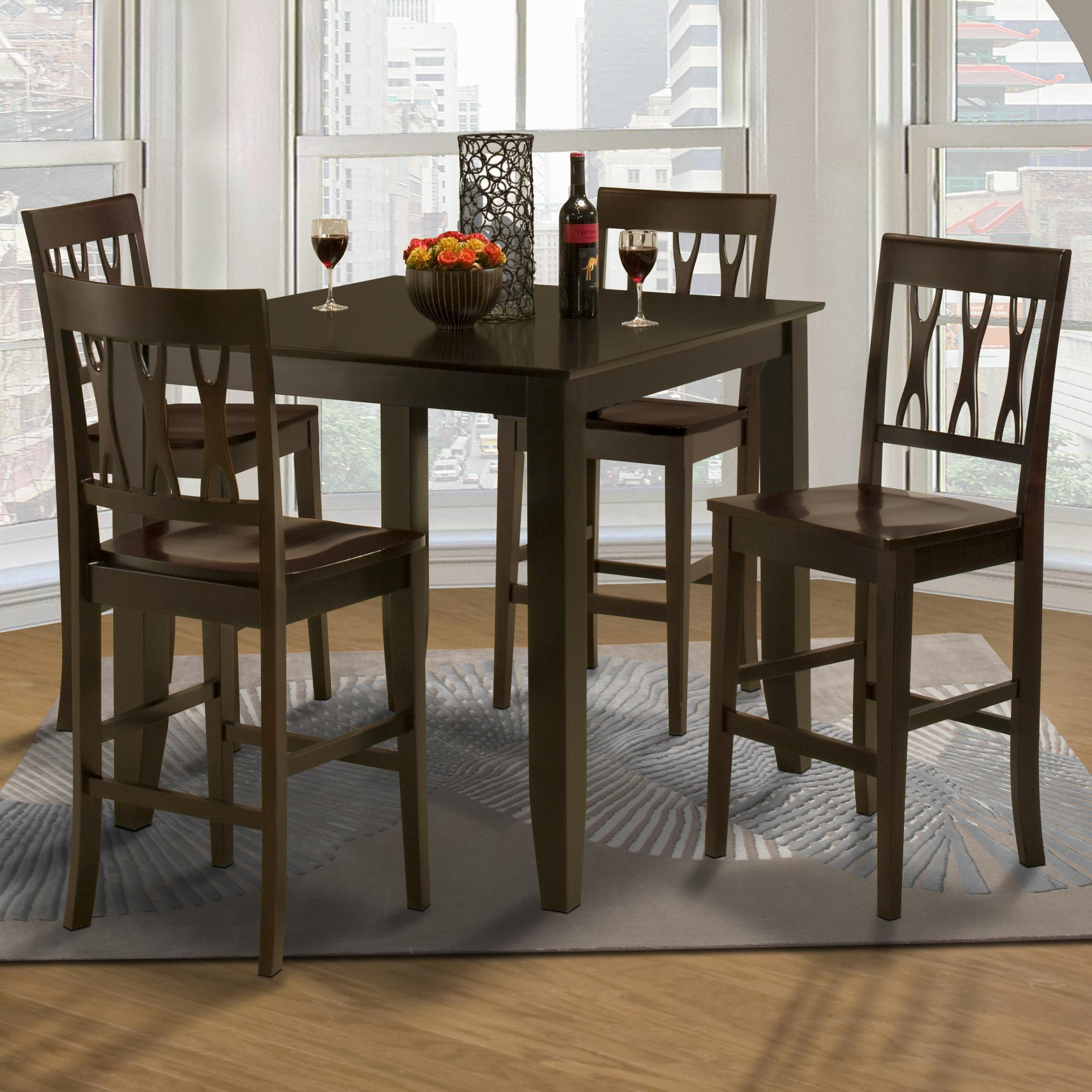 counter height table and chair sets revolving repair in trivandrum new classic style 19 small abbie