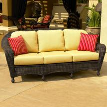 Northcape International Charleston Wicker Sofa John