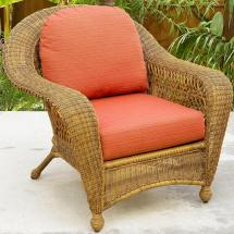 Northcape International Charleston Wicker Chair Becker