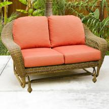 Chicago Wicker Charleston Double Glider Becker
