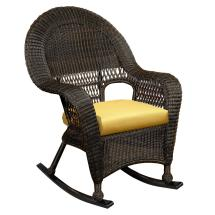 Northcape International Charleston High Wicker Rocker