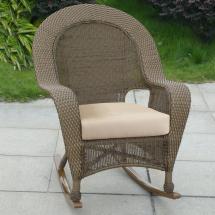 Outdoor Wicker Rocker Replacement Cushions