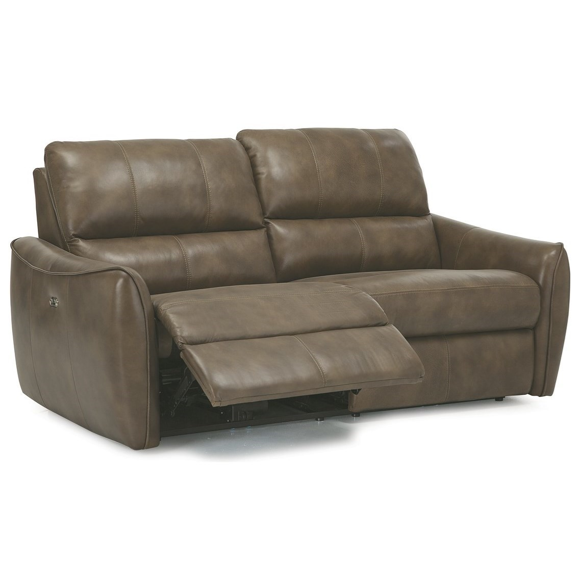pause modern reclining sectional sofa by palliser reupholster dubai arlo contemporary recliner with tapered arms