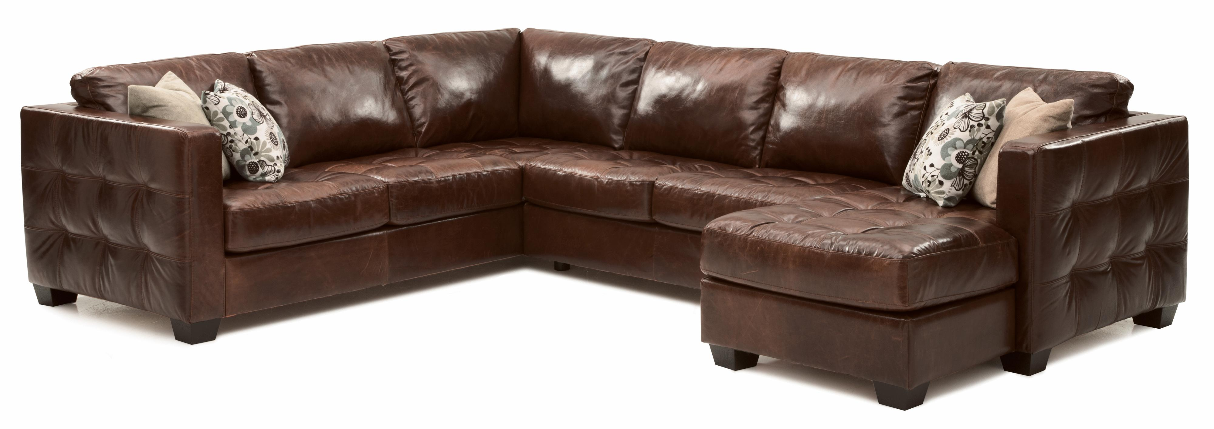 cloud track arm leather two seat cushion sofa art van chaise palliser barrett contemporary sectional with