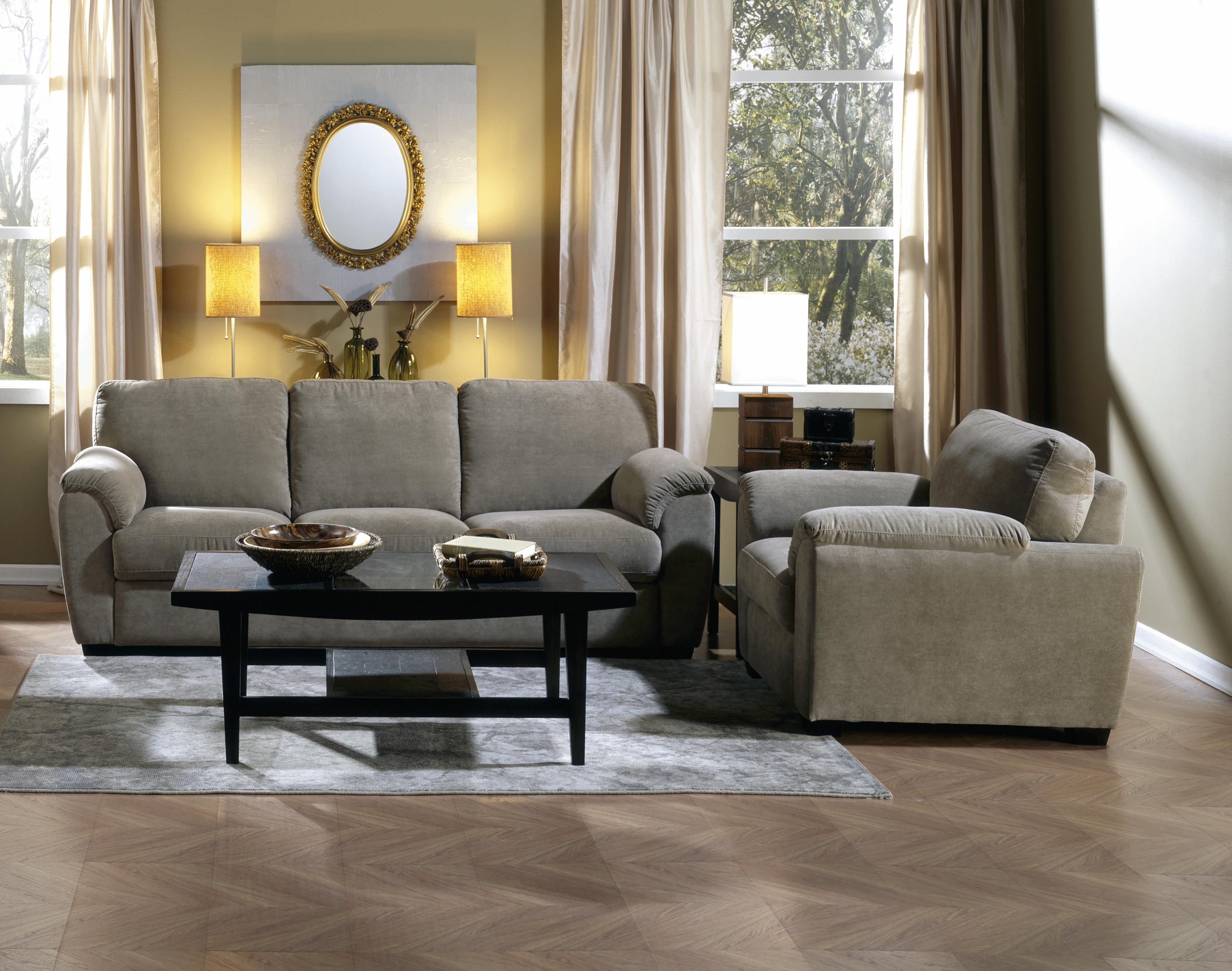 palliser stationary sofas purchase sofa set online in india lanza casual with sloped pillow arms a1