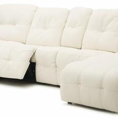 Sectional Sofa With Chaise Lounge And Recliner Organic Palliser Mystique Transitional Power Reclining