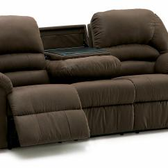 Double Reclining Sofa With Fold Down Table Rachlin Gigi Mitchiner
