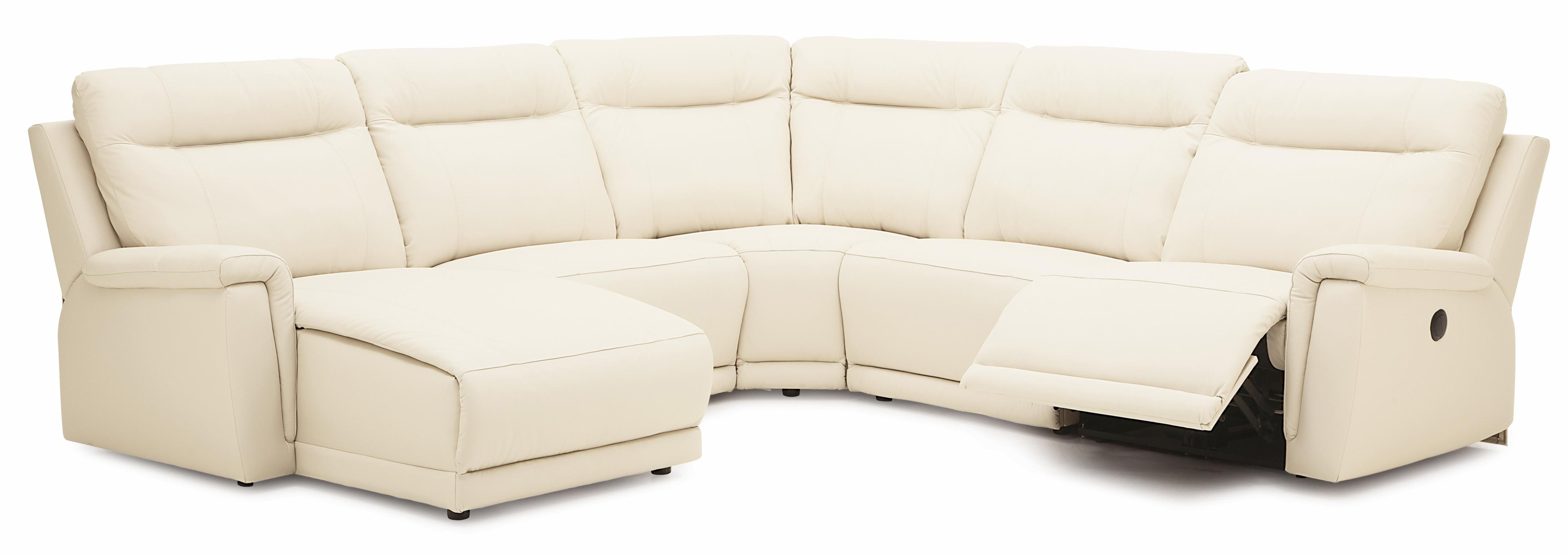 pause modern reclining sectional sofa by palliser dwr sliding sleeper reviews westpoint contemporary left hand facing