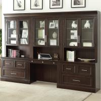 Parker House Stanford Wall Unit with Lateral Files and ...