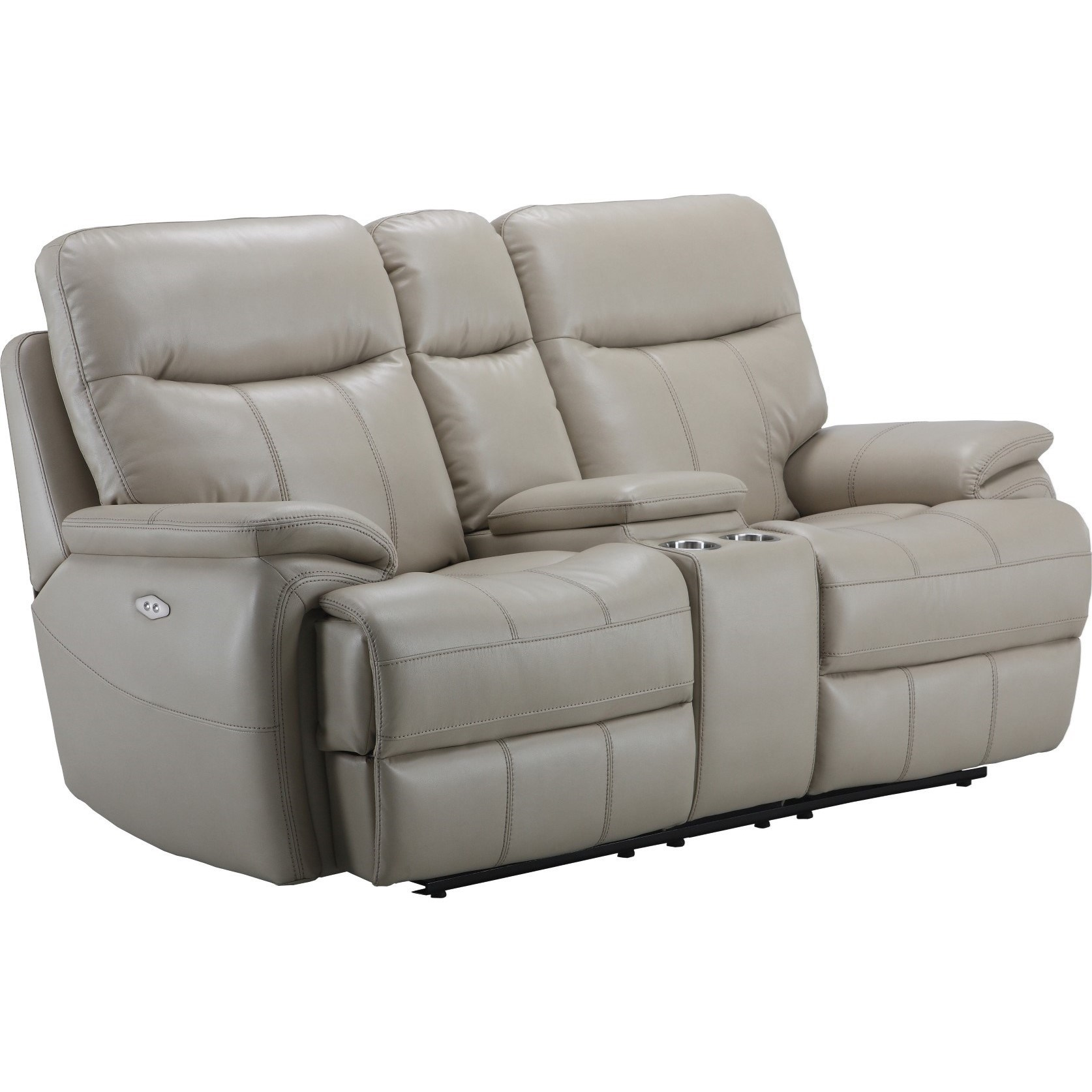 power reclining sofa with cup holders leopard print bed parker living dylan mdyl 822cph cre dual recliner