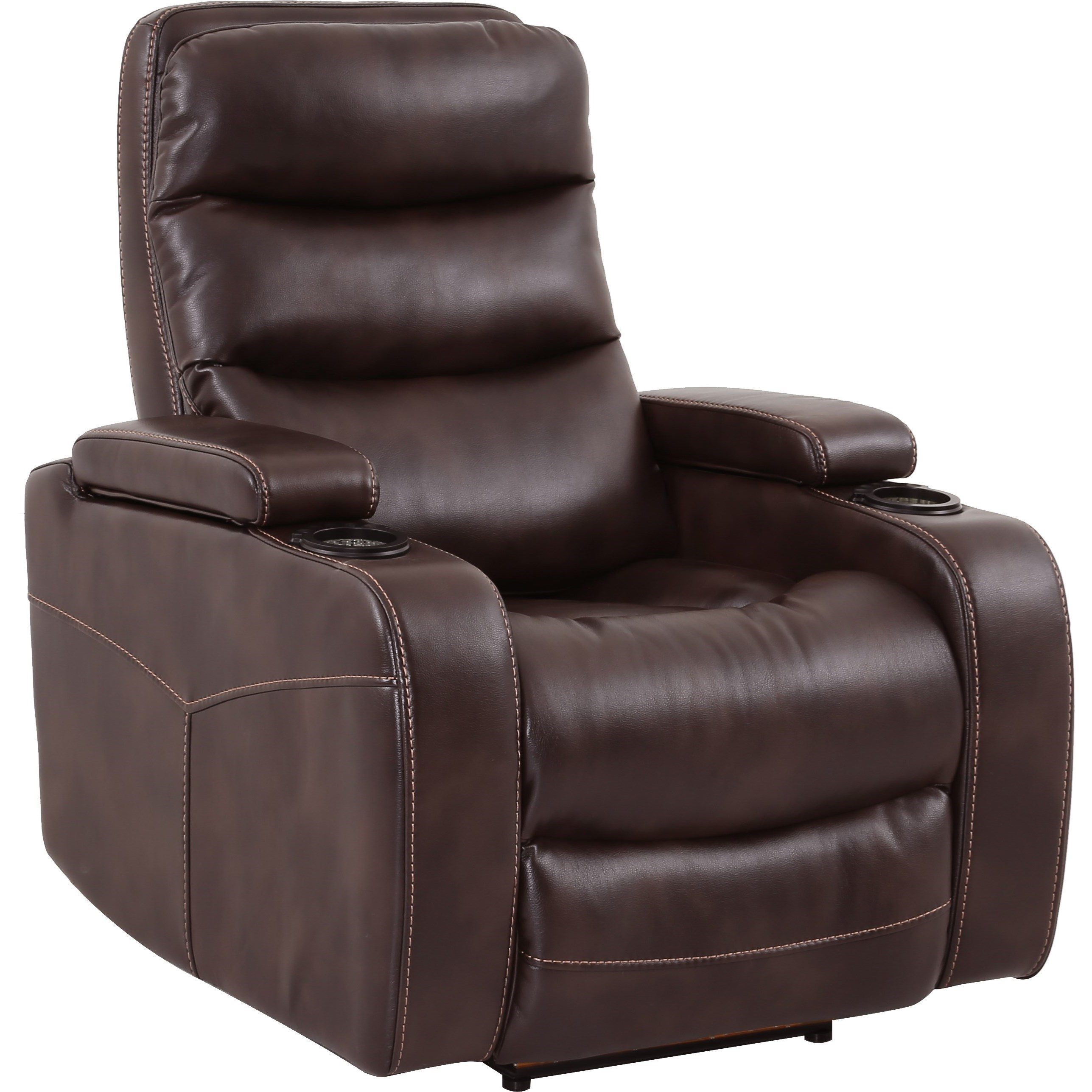 theater chairs with cup holders plastic beach chaise lounge parker living genesis mgen 812p tru contemporary home