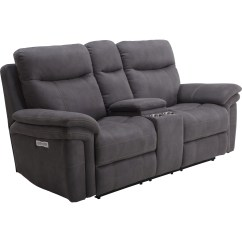 Power Reclining Sofa With Cup Holders Stretch Slipcovers For Sleeper Sofas Parker Living Mason Casual Console