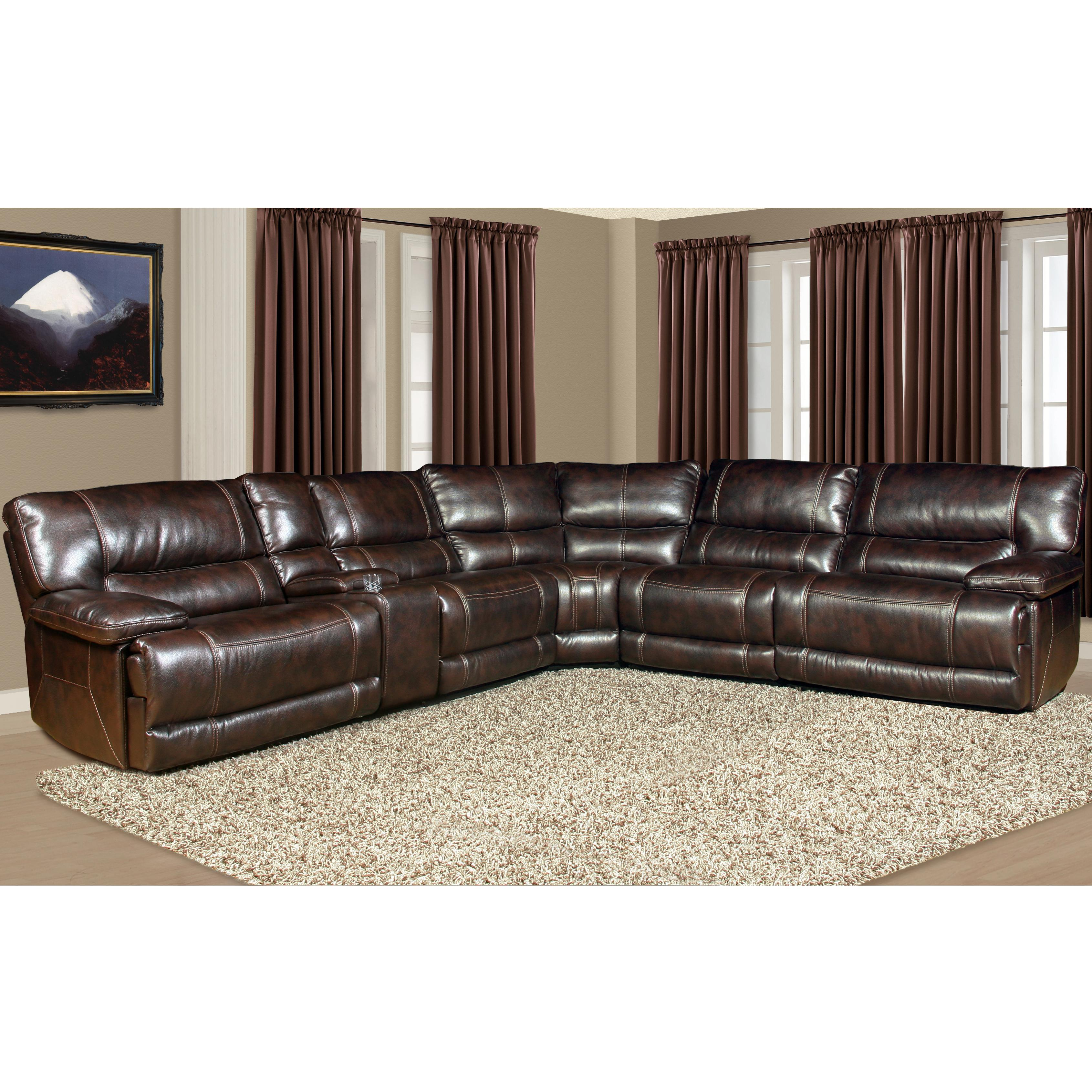 power reclining sofa with cup holders faux leather replacement covers parker living pegasus mpeg packm nu 5 seater