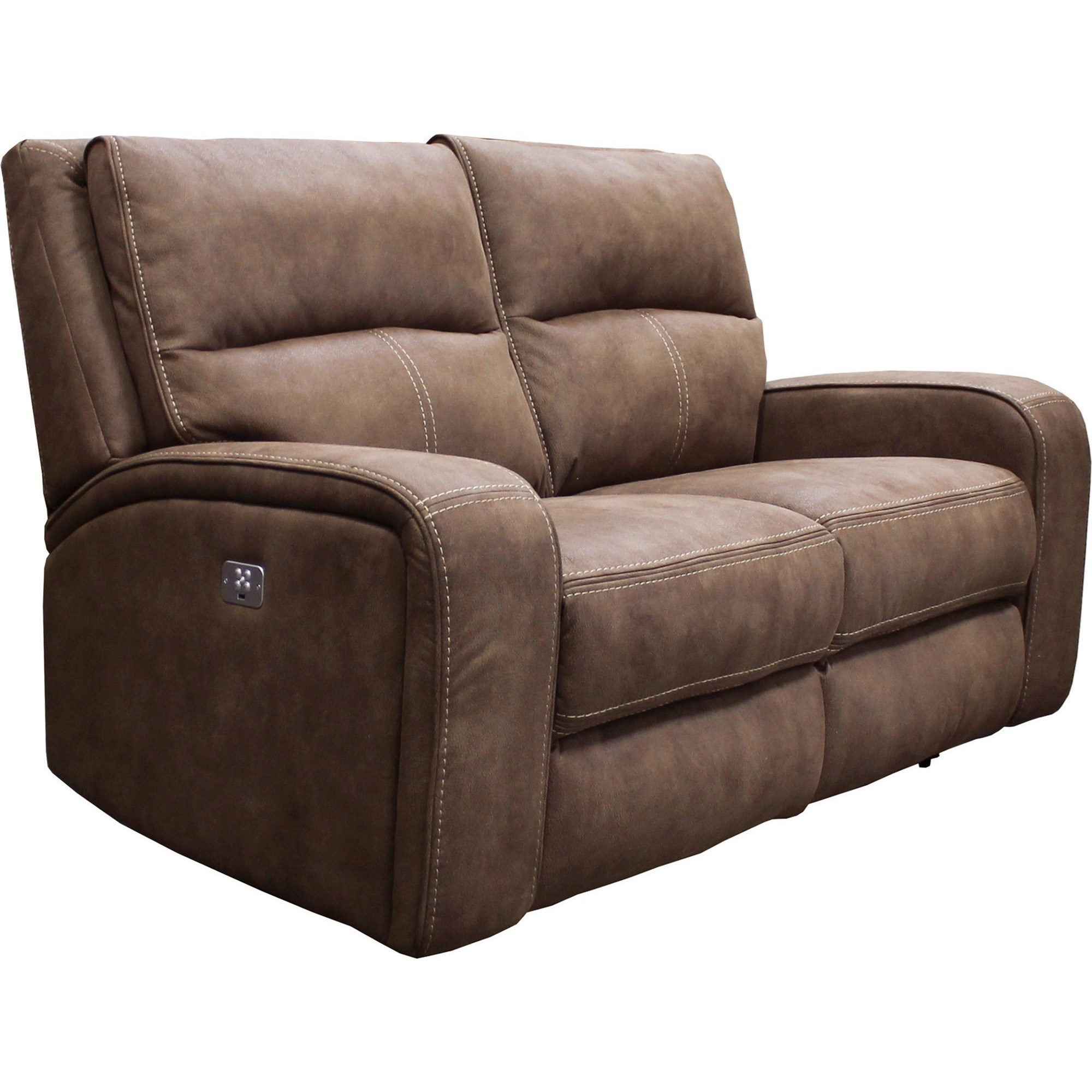 crescent power sofa recliner with headrest savers 2 seater parker living polaris kahlua dual reclining loveseat