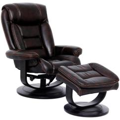 Recliner Vs Chair With Ottoman Bedroom Triton Swivel And Nutmeg Rotmans