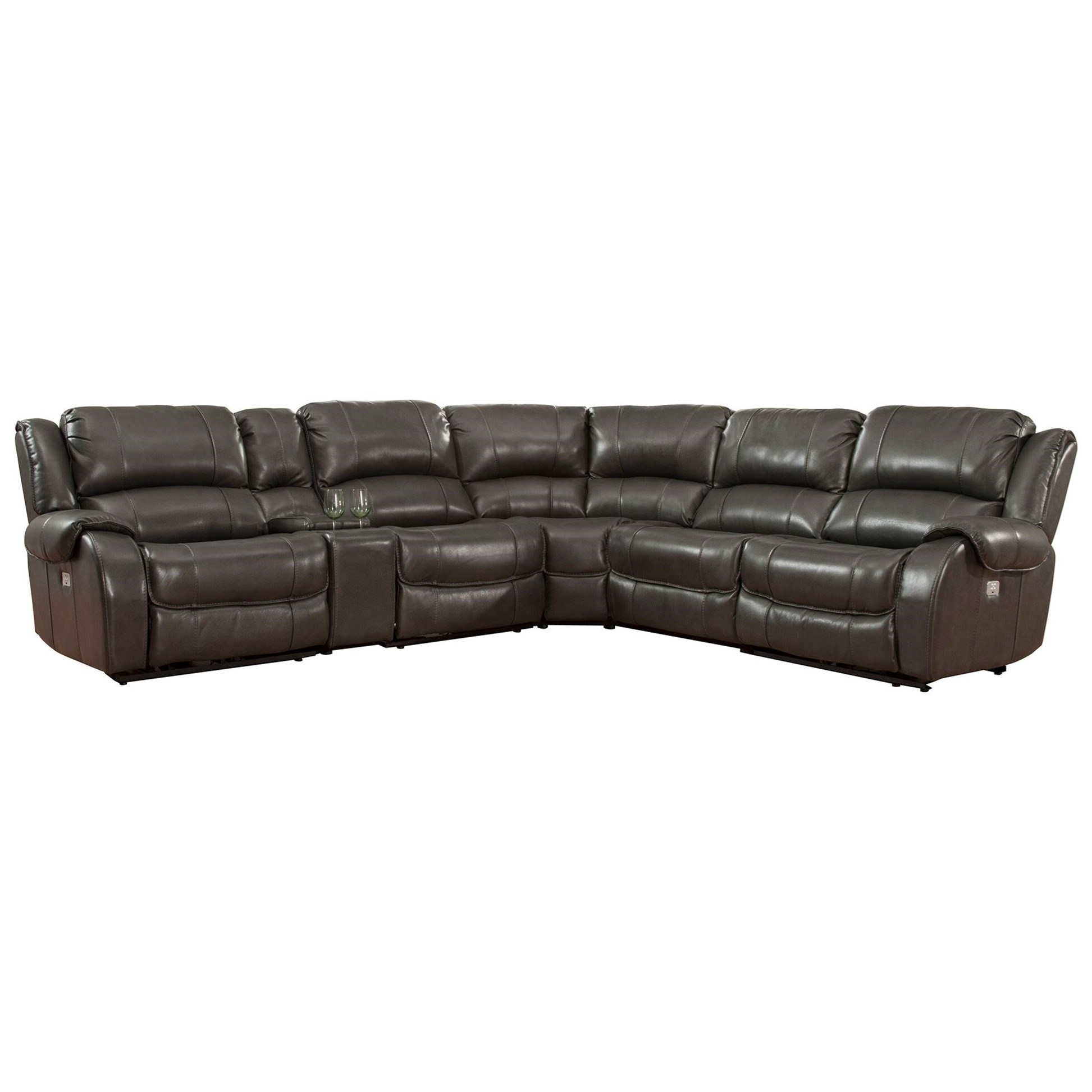 sofa rph motion sectional parker living ulysses power reclining with