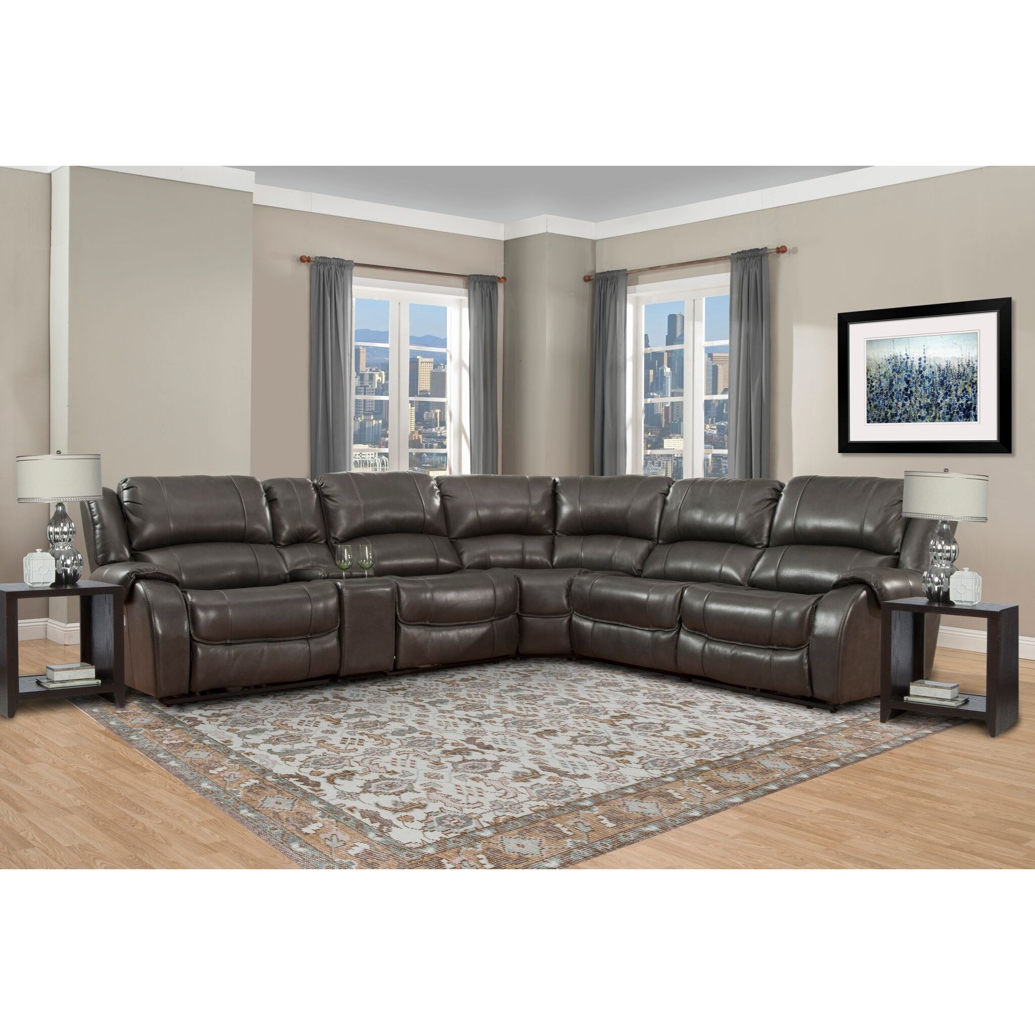 sofa rph versace uk parker living ulysses power reclining sectional with