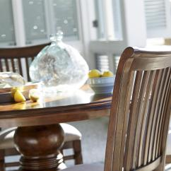 Paula Deen Dogwood Dining Chairs Lifetime Adirondack Chair Gray By Universal 596634 Rta Side