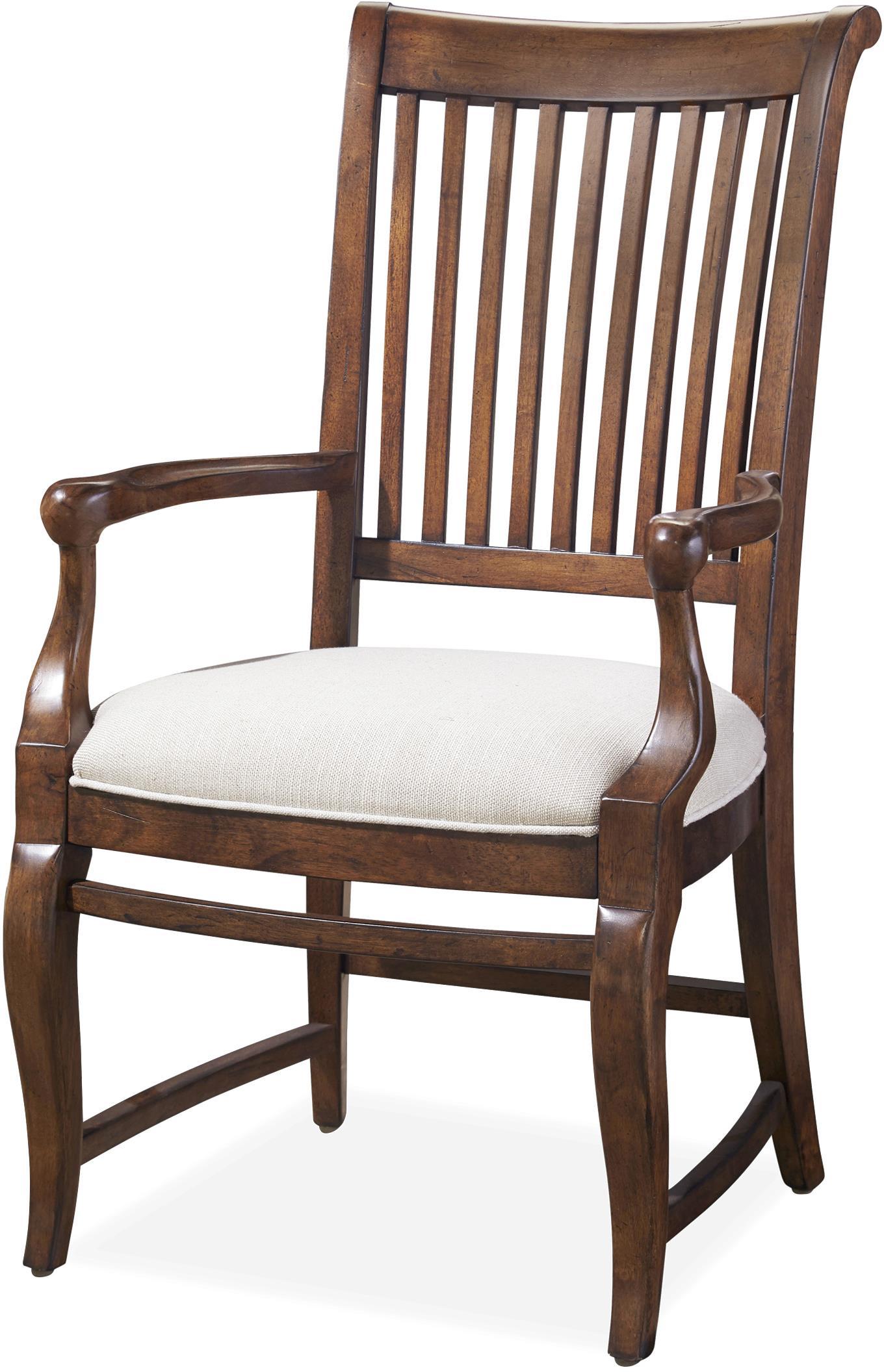 paula deen dogwood dining chairs hanging pod australia darling arm chair with slat back
