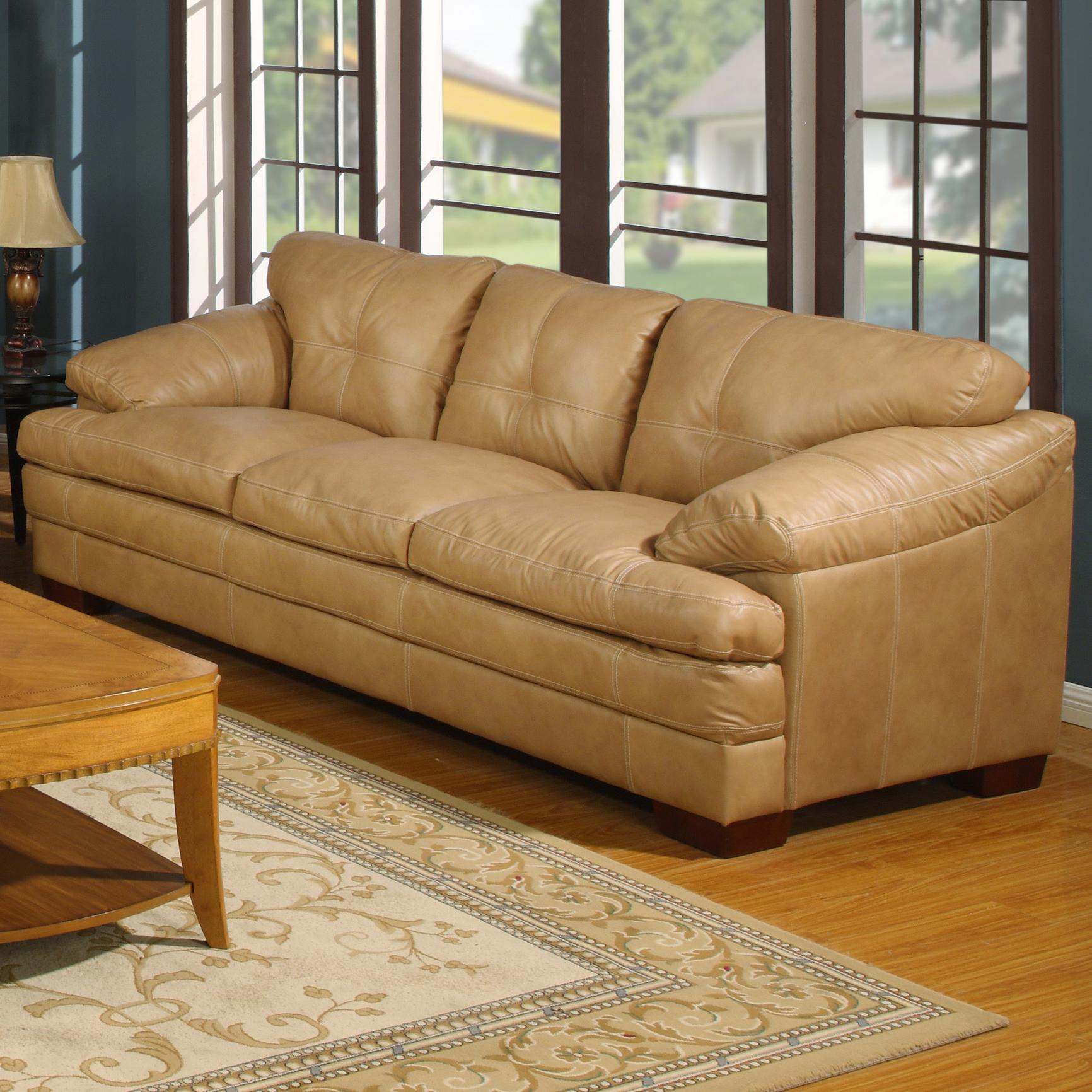 bad credit financing living room furniture safari inspired primo international mayfair mayfas casual 3 seat leather ...