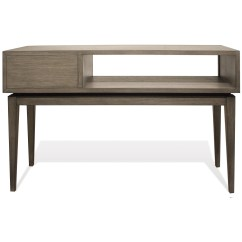 Vogue Chrome Sofa Table Istikbal Beds Riverside Furniture 46115 1 Drawer Console